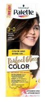 PALETTE PGC Боя за коса 3-0 тъмен шоколад