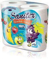 SANITEX Кухненска ролка плодове, 2 бр.