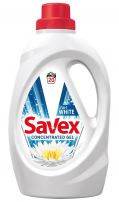 SAVEX 2IN1 WHITE Гел за бяло пране, 1.1 л.