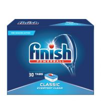 FINISH CLASSIC  Таблетки за съдомиялна машина,  30бр.