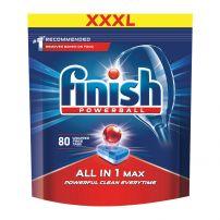 FINISH ALL IN 1 MAX  Таблетки за съдомиялна машина всичко в едно, 80 бр.
