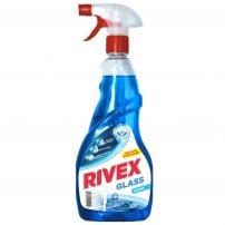 RIVEX  GLASS Препарат за почистване на прозорци помпа, 750 мл.
