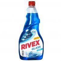 RIVEX  GLASS Препарат за почистване на прозорци пълнител, 750 мл.