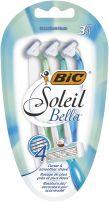 BIC MISS SOLEIL BELLA Дамска еднократна самобръсначка, 3 бр.
