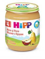 HIPP BIO Пюре круша с ябълка 4320, 125 гр.