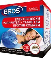 BROS Електрически-изпарител против комари+10 таб