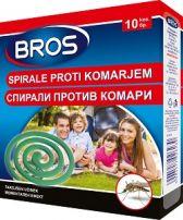 BROS Спирали против комари, 10 бр.