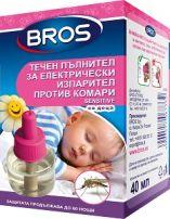 BROS Течен пълнител електрически изпарител за деца, 40 мл.