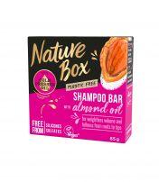 NATURE BOX Твърд шампоан бадем, 85гр.