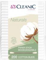 CLEANIC NATURALS Клечки за уши Cleanic Naturals биоразградими 200 бр