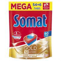 SOMAT GOLD DOYPACK Таблетки за съдомиялна, 54+6 тбл.