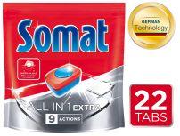 SOMAT ALLIN1 EXTRA Таблетки за съдомиялна, 22 тбл.