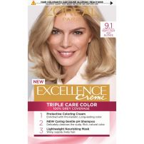 L'OREAL PARIS EXCELLENCE Боя за коса 9.1 Natural light ash blonde