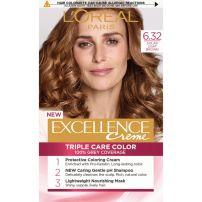 L'OREAL PARIS EXCELLENCE Боя за коса 6.32 Golden light brown