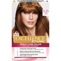 L'OREAL PARIS EXCELLENCE Боя за коса 6.35 Hazelnut chocolate