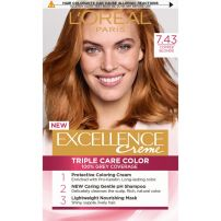 L'OREAL PARIS EXCELLENCE Боя за коса 7.43 Golden copper blonde