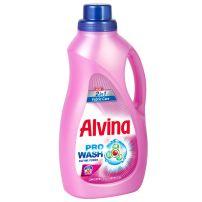 MEDIX ALVINA 2 IN 1 Течен перилен препарат за цветни и бели тъкани с омекотител 20 пранета, 1100 мл.