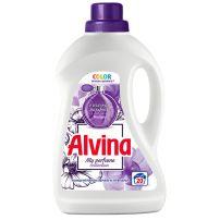 MEDIX ALVINA COLOR Течен перилен препарат за цветни за цветни тъкани (лилав) за 20 пранета, 1100 мл.