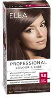 ELEA PROFESSIONAL Боя за коса 5/0 светло кафяво