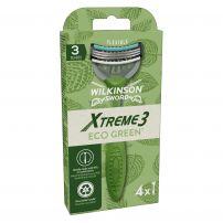XTREME3 ECO GREEN Мъжка самобръсначка, 4 бр.