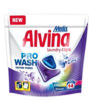 MEDIX ALVINA COLOR Течни капсули за цветно пране Deluxe, 14бр.