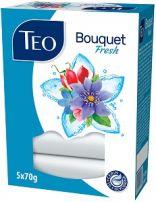 TEO BOUQUET Fresh тоалетен сапун, 5х70 гр.