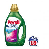 PERSIL Течен перилен препарат срещу неприятни миризми за цветно пране, 18 пранета