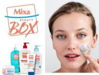 BEAUTY BOX MIXA - Мицеларна вода 200 мл. + Крем за лице 100 мл. + Почистващ гел за лице 200мл. + Крем-гел за лице 50мл. + Лосион за тяло 400 мл.