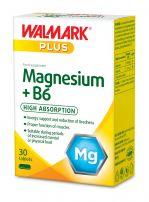 WALMARK Жълта линия магнезий + витамин В6 таблетки, 30 бр.