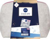 NIVEA CELLULAR EXPERT Подаръчен комплект Дневен крем против бръчки, 50 мл + Нощен крем против бръчки, 50 ml