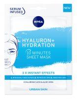 NIVEA Hyalluron + Hydration Лист маска, 1 бр.