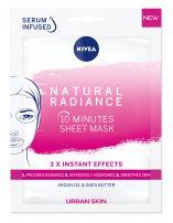 NIVEA Natural Radiance Лист маска, 1 бр.