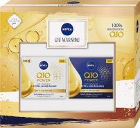 NIVEA Q10 NOURISHING  Подаръчен комплект Дневен крем, 50 мл + Нощен крем, 50 мл