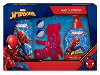 DISNEY SPIDERMAN 4 Подаръчен компелкт Шампоан за коса и тяло 250мл, Течен сапун 250мл, Пистолет с топчета