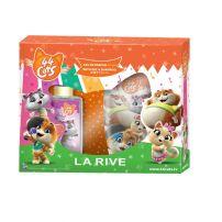 LA RIVE  44 CATS Подаръчен комплект детски парфюм 50 мл + душ-гел 2в1, 250 мл