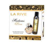 LA RIVE MADAME IN LOVE Подаръчен комплект парфюм 90 мл + дезодорант 150 мл