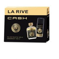 LA RIVE CASH MAN  Подаръчен комплект тоалетна вода 100 мл + дезодорант 150 мл
