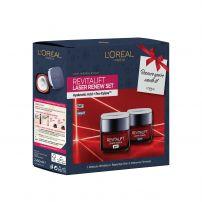 L'OREAL Paris Revitalift Laser Подаръчен комплект Дневен крем 50мл + нощен крем 50мл
