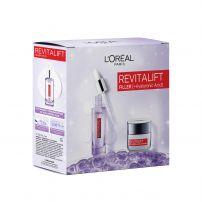 L'OREAL Paris Revitalift Filler Подаръчен комплект Серум 30мл +  дневен крем 50мл
