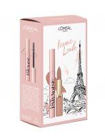 L'OREAL Paris Paradise Подаръчен комплект Спирала + червило