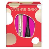 VIVIENNE SABO CABARET PREMIERE Подаръчен комплект спирала 9 мл + очна линия Charbon 6 мл