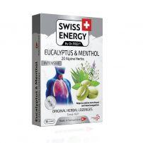 SWISS ENERGY БИЛКОВИ 20 herbs ЕВКАЛИПТ и МЕНТА