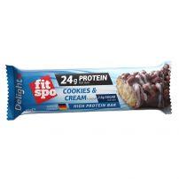FIT SPO DELIGHT Протеинов бар Бисквита&крем 65Г