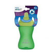 AVENT Чаша с твърд накрайник My Grippy 300мл, зелена, 18м+