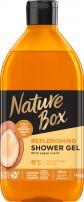 NATURE BOX Душ гел арганово масло, 385мл.