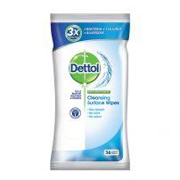 DETTOL ORIGINAL Кърпички за дезинфекция на повърхности 36бр.