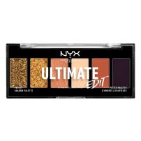 NYX PROFESSIONAL MAKEUP ULTIMATE SHADOW Палитра сенки за очи Utopia, 6 цвята