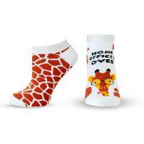 HAPPY FOOTTOPIA  Къси чорапи 82% памук жираф, 35-38