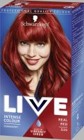 LIVE INTENSE COLOUR Боя за коса 035 Real Red