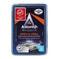 ASTONISH Паста за почистване на фурни и грилове 250гр. + гъба